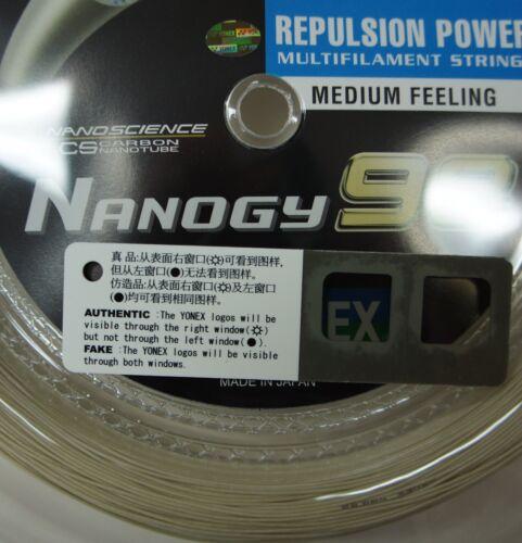 Made in Japan YONEX Nanogy 98 Badminton String 200 m Coil NBG98-2 Cosmic Gold