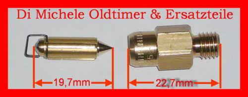 4x Flotteur Pointeau 1 75 Weber Carburateur Idf  Dat Dmtr DFC Soupape à