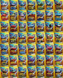 L-Mattel-Modellini-Disney-Pixar-Cars-1-55-Lenticular-Giocattolo-Metal-Diecast