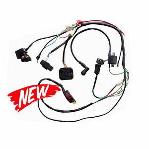 Astonishing Full Wiring Harness For 250Cc 200Cc Zongshen Pit Bike Hummer Atomik Wiring 101 Akebretraxxcnl