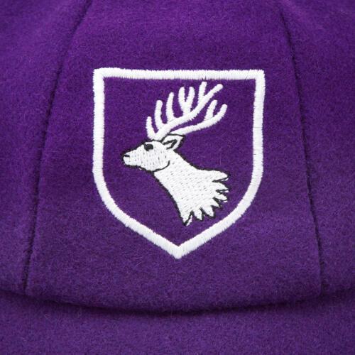 Daiglen School Boys Cap Taille Extra Large Taille 7 violet 57 CM avec insigne