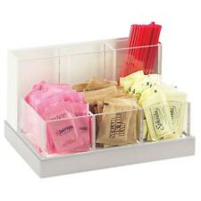 Cal Mil 3013 55 6 Bin Condiment Caddy Stainless Steelwhite