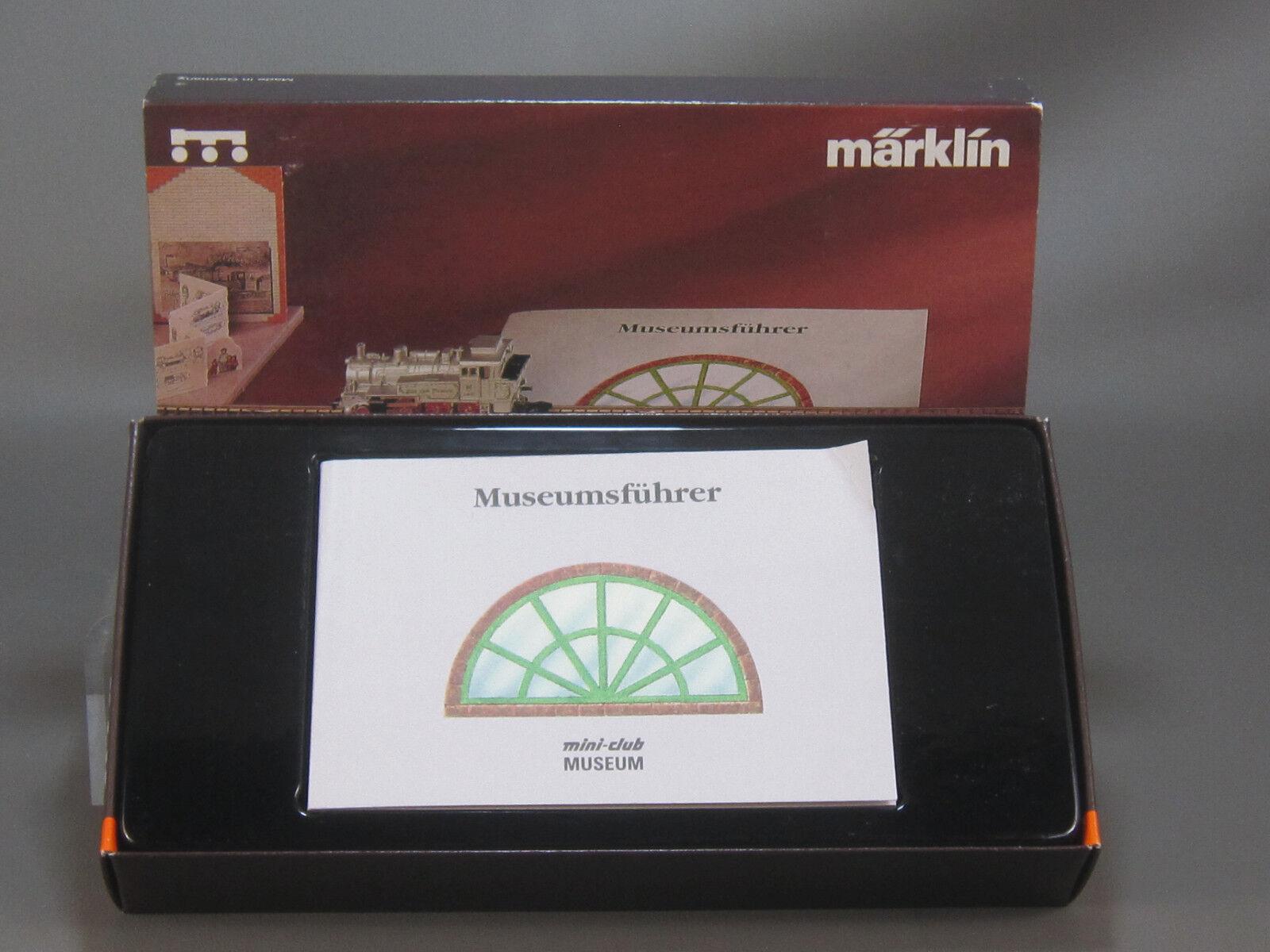 Marklin Escala Z 8894 Mini Club Museo Tanque Locomotora