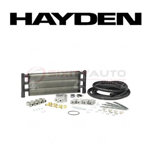 Engine Cooling hk Hayden Oil Cooler for 1999-2004 Chevrolet Blazer 4.3L V6