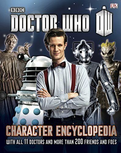 1 of 1 - Very Good 1409325717 Hardcover Doctor Who Character Encyclopedia (Dr Who) Laing,