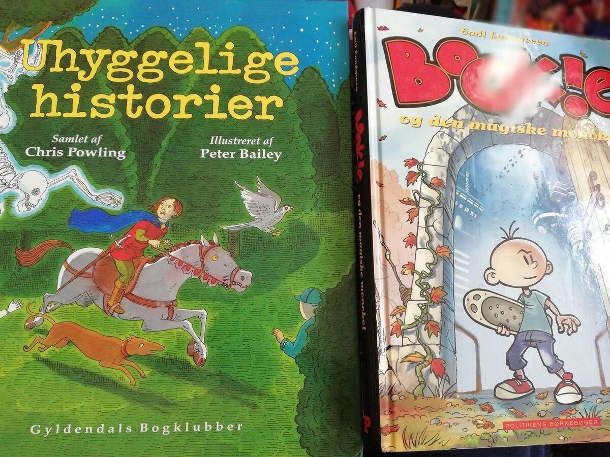 Uhyggelige Historier Og Bookie Og Dbadk Køb Og Salg Af Nyt Og Brugt