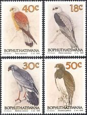 Bophuthatswana 1989 Eagle/Kestrel/Kite/Raptors/Birds/Nature 4v set (n18723)