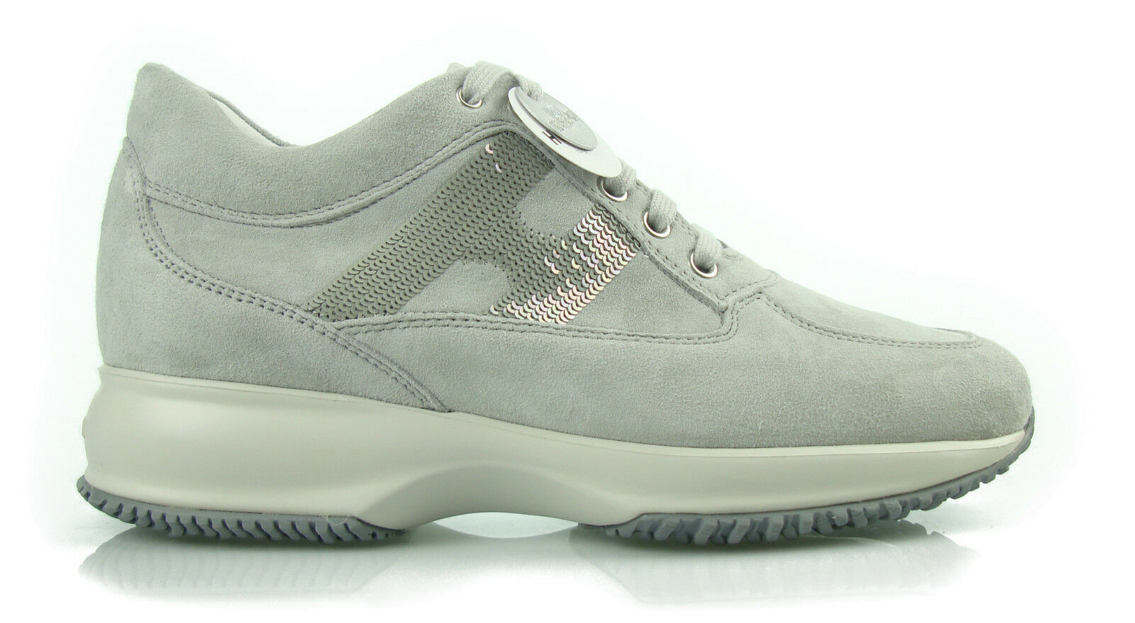 h2 hogan interactive strass grigie scarpe donna shoes damenshuhe women 100% aut 4c489c318b0