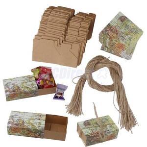Wedding Return Gift Box : 50Pcs-Paper-Candy-Gift-Box-Return-Gift-Wedding-Birthday-Party-Favors-w ...