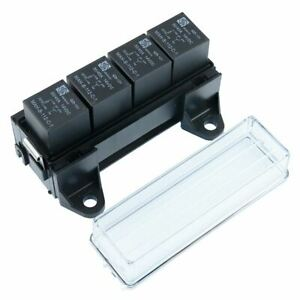 4-Way-Automotive-Relay-Box-Holder-with-Relays-Auto-Car-12V