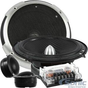 Soundstream-PF-6-Picasso-350-Watts-6-5-034-2-Way-Component-Speakers-Tweeters-6-1-2-034