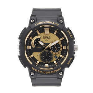 Casio-Men-039-s-Quartz-Chronograph-Black-Resin-Band-48mm-Watch-MCW200H-9AV