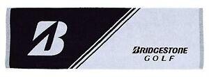 BRIDGESTONE-JAPAN-Golf-Sports-Long-Towel-Black-34-x-100cm-TWG52-2019-New
