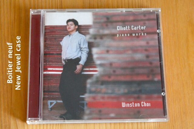Elliot Carter - Complete Piano works - Oeuvres pour piano - Winston Choi - CD