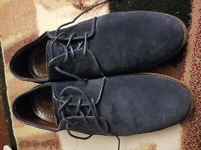 Allen Edmonds Blue Suede Derby Shoes | eBay