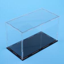 Acrylic Display Case Dustproof Show Box for Plane Car Boat Model 12x9x9inch