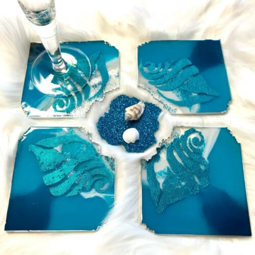 Kristallklar zweikomponentiges Epoxid-Gießharzsystem Viva Fine Art Resin 180g