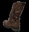 Stiefel-Frau-Niedrig-Biker-Boots-Stiefeletten-Schnallen-Militarschuhe-Schwarz miniature 8