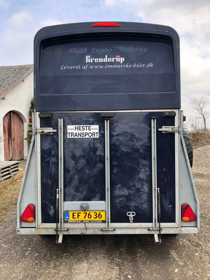 Hestetrailer, Brenderup Princess Exclusive , lastevne