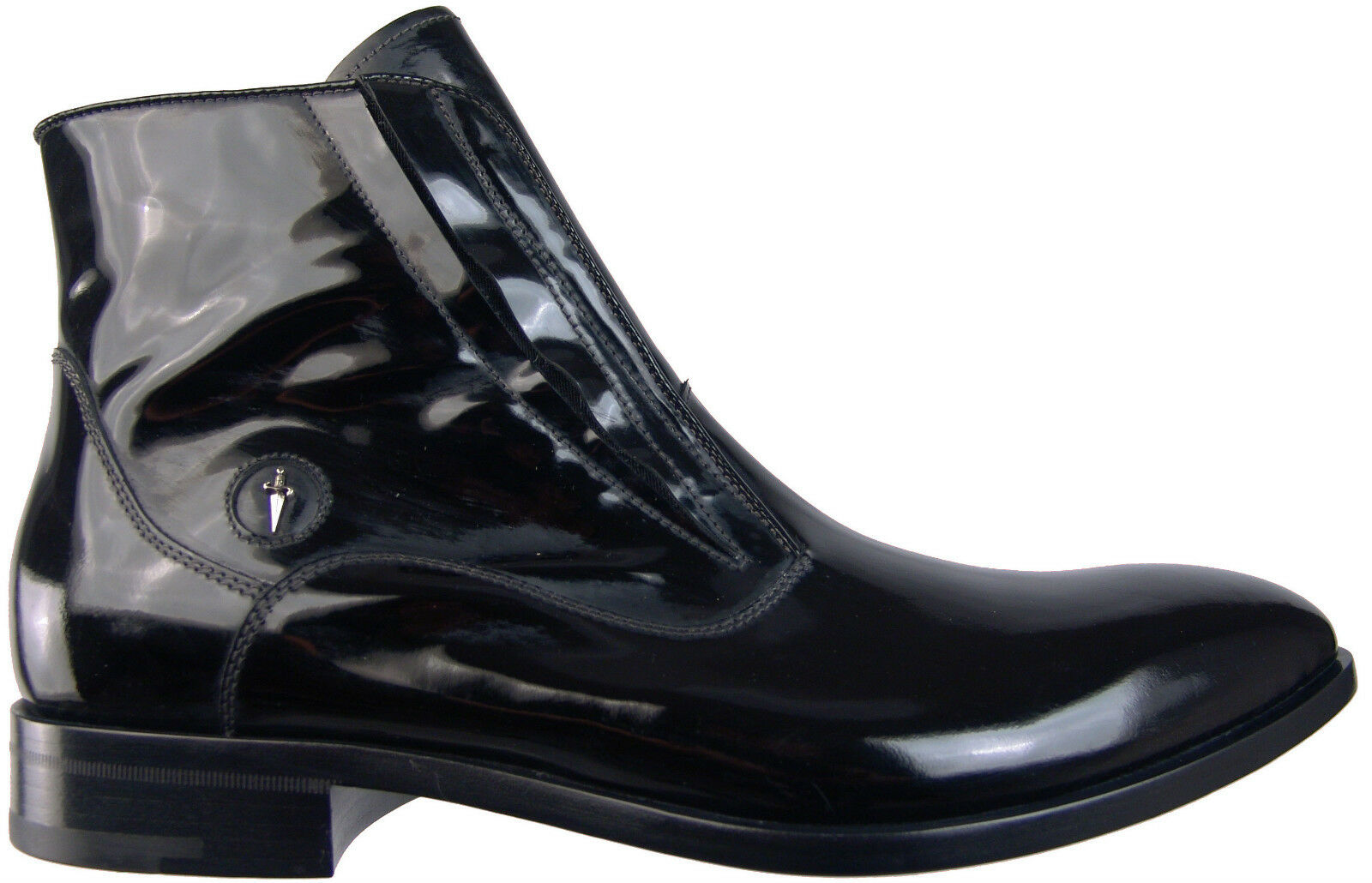 New Authentic  975 Cesare Paciotti US 6 Ankle Boots Italian Designer Shoes