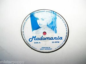 MADONNA-Madomania-LP-1987-GERMANY-EX
