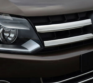 Full-Chrome-Grille-Accent-Trim-Set-Covers-To-Fit-Volkswagen-Amarok-10-16