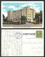B0103 Forest Hill Hotel Pacific Grove CA Autos Vintage Postcard PNC No 34013