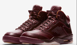 NIKE AIR JORDAN 5 RETRO PREMIUM  BORDEAUX  (881432 612) SIZE