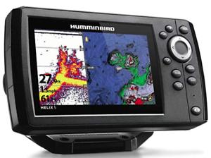 Humminbird-Fishfinder-Helix-5-G2-Chirp-GPS-Combo-Portable-Sonar-Fishing-2DayShip