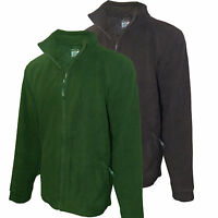 Mens Regatta Fleece Heavy Weight Mens Element Ii Glacier Anti-pill Full Zip Xxxl
