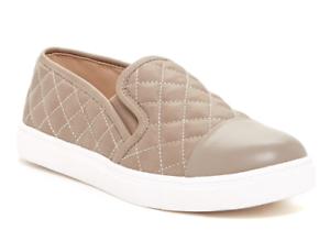 a75465b6265 Steve Madden Zaander Women s Taupe Slip On Leather Sneaker Sz 9.5M ...