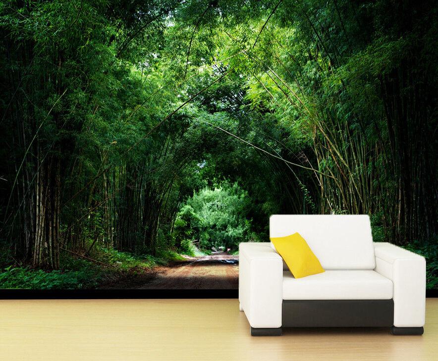 3D Bamboo Forest 75 Wall Paper Murals Wall Print Wall Wallpaper Mural AU Summer