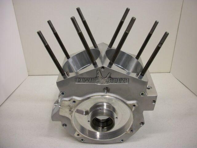 Harley EVO Powerhouse 114 Engine Cases Crankcases Delkron Dr3 Race Case FXR  FLH