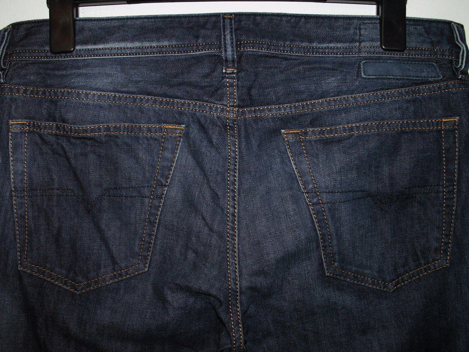 Diesel new-fanker regular slim-Stiefelcut jeans wash 0817F W34 L30 (a2834)    Attraktive Mode    Realistisch    Adoptieren