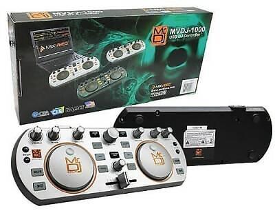MR DJ MVDJ-1000 USB DJ Controller MIDI Player with Illuminated ...