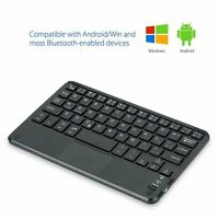 Mini Portable Wireless Bluetooth Keyboard With Touchpad For Phones Smart Tv Pc