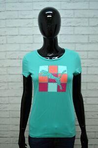 Maglia-Donna-PUMA-Taglia-40-S-Maglietta-Shirt-Woman-Polo-Manica-Corta