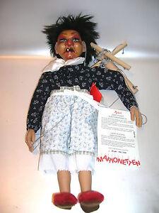 Artiste Sigikid Marionette Witch Par Gabriele Brill Limited 199/1000