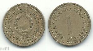 Yugoslavia-1-Dinar-1982-KM-86-20-mm