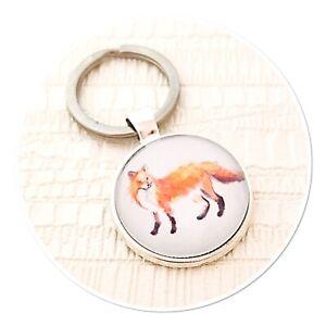 Fox Wildlife keyring key ring