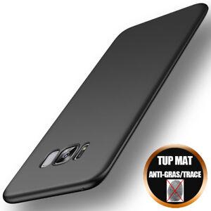 Coque-Etui-Mat-Pour-Samsung-S8-S9-S10-S7-Edge-Note8-A5-A6-A7-Protection-Antichoc