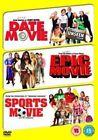 Date Movie/epic Movie/sports Movie 5039036041713 With David Carradine DVD
