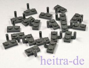 10X Lego® 88072 Platten Platte 1X2 mit Haken Rot Red NEU