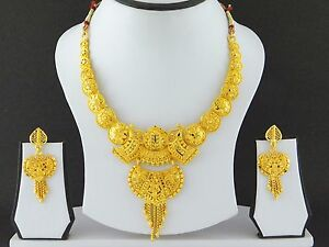 Image is loading UK-Indian-Gold-Plated-Bollywood-Jewelry-Fashion-Wedding- eef96a430b