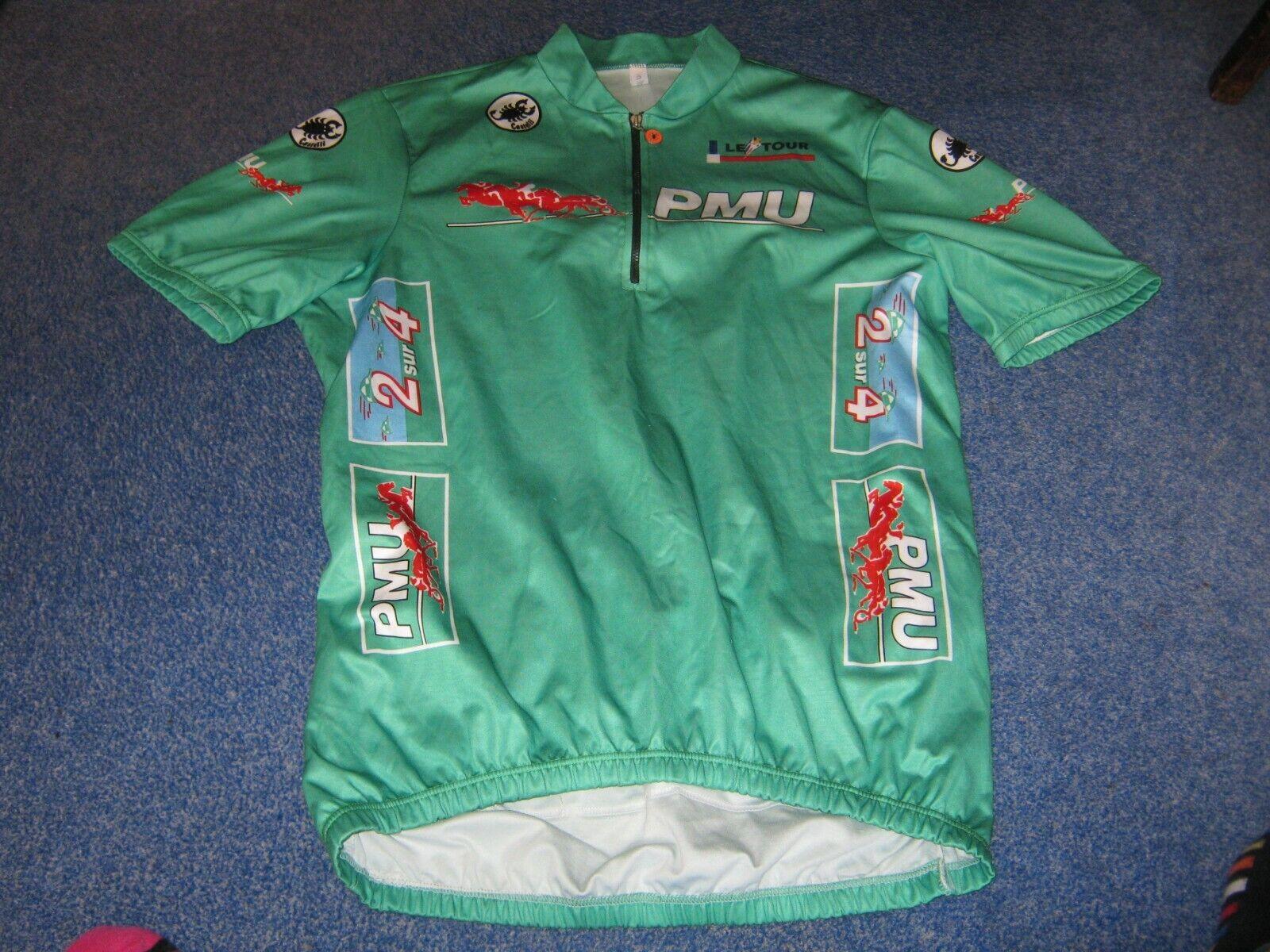 Tour de France 1991 - Castelli Grün Points Leader Italian cycling jersey