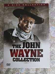 the John Wayne Collection 6 DVD set - <span itemprop=availableAtOrFrom>Haywards Heath, United Kingdom</span> - the John Wayne Collection 6 DVD set - Haywards Heath, United Kingdom