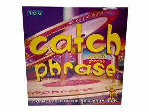 Catch-Phrase-Board-Game-ITV-Show-by-Britannia-Games-2005-Complete
