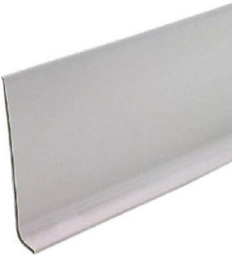 "2 rolls 93245 4/"" x 20/' Silver Gray Vinyl Self Stick Wall Base Cove Moulding"