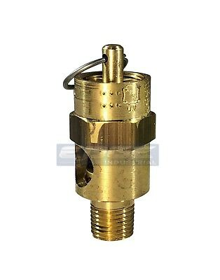 """225 PSI SAFETY RELIEF POP OFF VALVE FOR AIR COMPRESSOR TANK RELEASE 3//8/"""" NPT"""