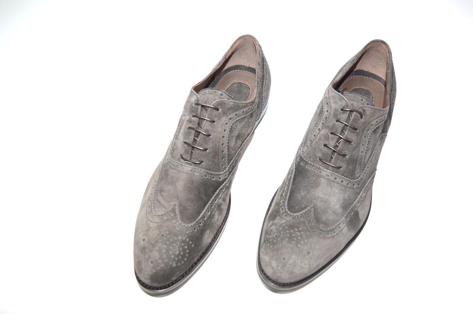 Nuevo De Lujo Cuero STEFANO RICCI Zapatos Talla nos 8 (COD A179)